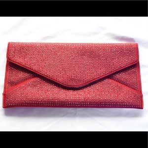 Ted Baker Rhinestone Envelope Clutxh